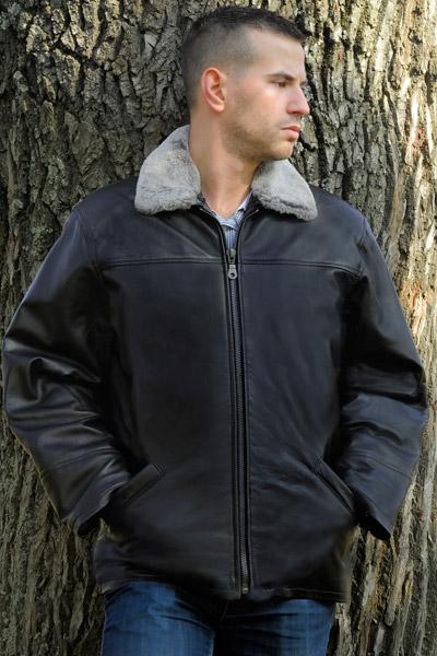 Muške kožne jakne - Koza Krzno Lukic